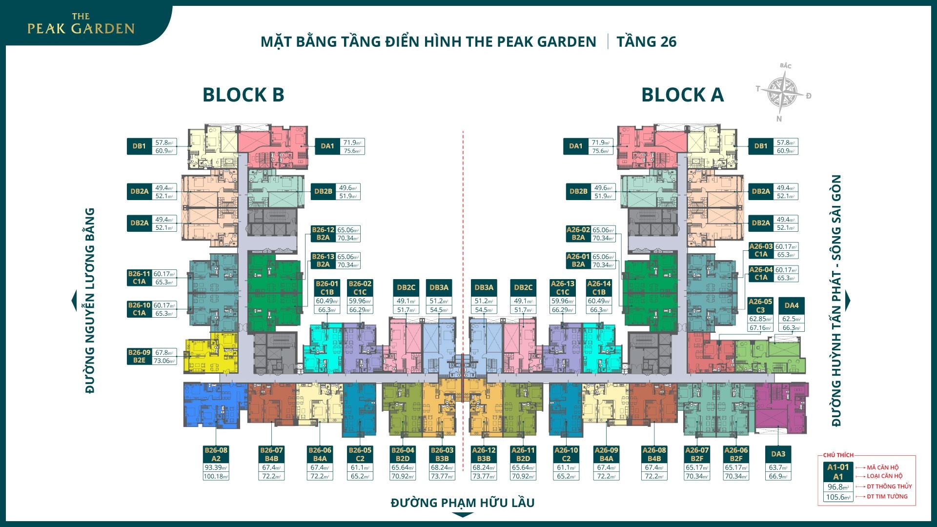 Mat Bang The Peak Garden Tang 26 2021